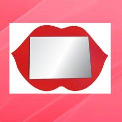 Espelho Inquebrável Modelo Boquinha - 1 unidade