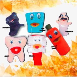 Kit Fantoches Dentários Maxi - Saúde Bucal