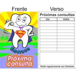 Cartão Emerson p/ Marcar Consulta - Pacote com 33 unidades - R$ 0