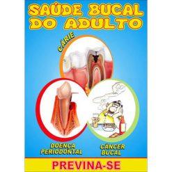Mini Revista Saúde Bucal do Adulto - Pacote c/ 14 unidades