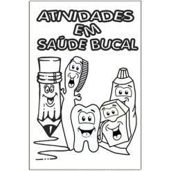 Mini Revista Atividades Saúde Bucal - Pacote c/ 14 unidades